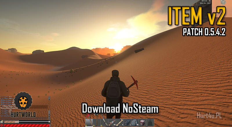 Hurtworld NoSteam ItemV2 download Experimental Patch 0.5.4.2 hurtworld itemv2